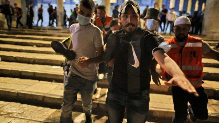 Kelakuan Teroris Isreal Serbu Masjid Al Aqsa Saat Umat Muslim Beribadah, Erdogan: Negara Teroris!
