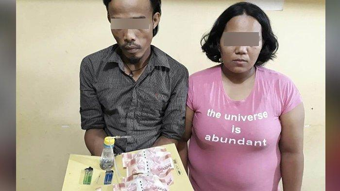 Seorang Ibu di Riau Hendak Konsumsi Sabu-sabu Bareng Pengedar Keburu Ditangkap Polisi Inhu