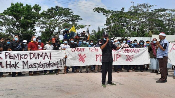 Massa APHMD Gelar Aksi Damai di Depan PT EUP, Ini 8 Tuntutannya