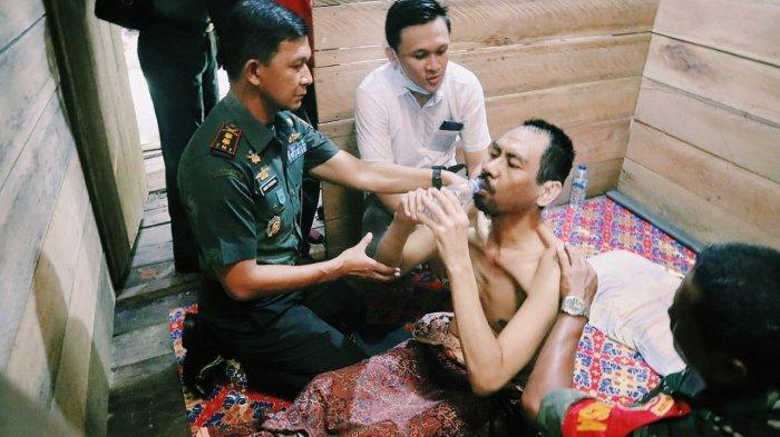 Sering Ngamuk, Dua Pria dengan Gangguan Jiwa Dipasung Keluarga, Dandim InhilDatang Membebaskan