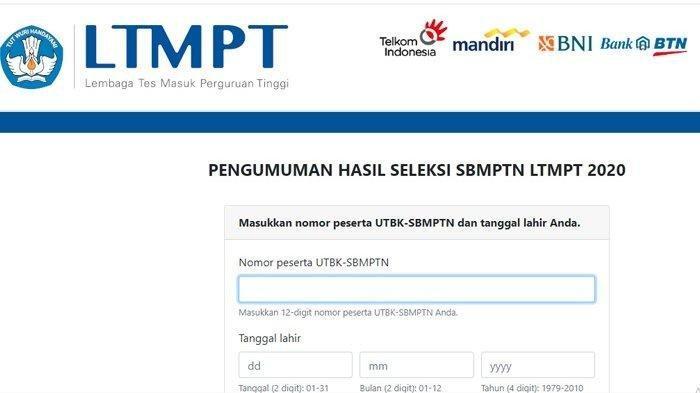 Panduan Mengunduh dan Cara Cetak Kartu Peserta UTBK-SBMPTN 2021 dari Laman ltmpt.ac.id