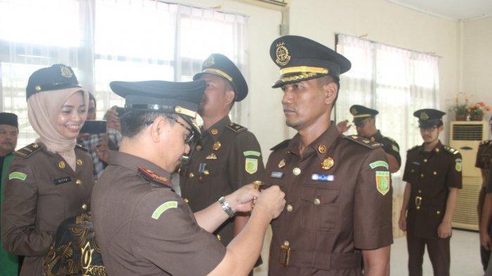 Ganti Dua Kasi dan Dua Jaksa Fungsional Dipromosikan di Kejari Pelalawan Riau
