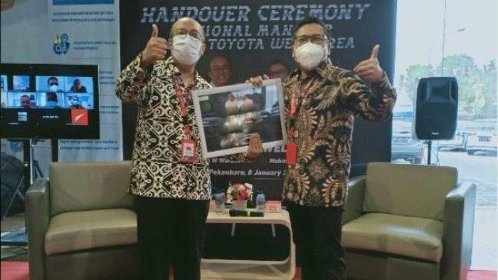 Mahmud Fauzi Jabat Regional Manager AgungToyotaWilayah Sumatera