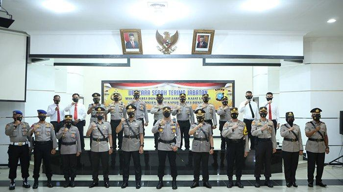 Wakapolres Dumai Berganti,3 Jabatan Lain Juga Disertijab,4 Perwira Duduki Posisi Baru, Siapa Saja?