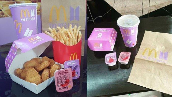 Setelah Viral Kerumunan McD, Kini Bungkus Kosong BTS Meal Dijual Online, Harganya Capai Rp 500 Ribu