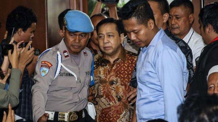 Tidak Hanya 15 Tahun Penjara, Hak Politik Setya Novanto Dicabut Selama. . .