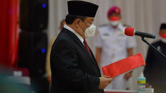 SF Hariyanto Resmi Jadi Sekdaprov Riau, Gubernur Riau Syamsuar Sebut Daftar PR SF Hariyanto