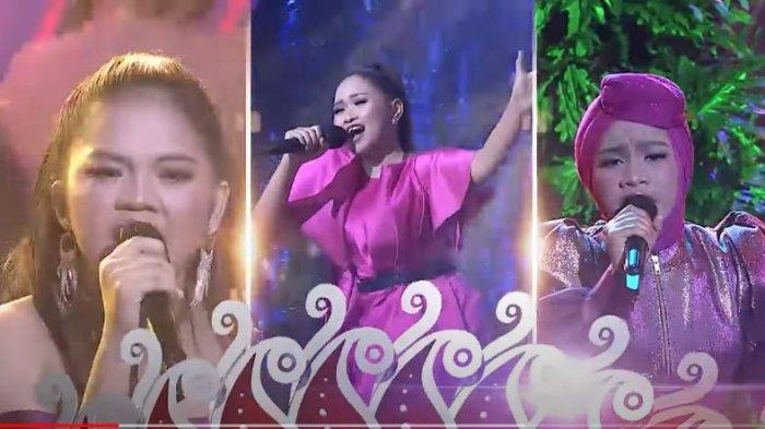 Konser Result Show LIDA 2021 TOP 12 Grup 4 Malam Ini, Alisyah, Anting ,Nursia, Siapa Tersenggol?