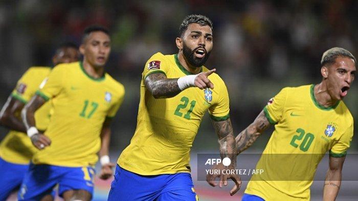 Siaran Langsung Kolombia vs Brasil Mulai Pukul 04.00 WIB, Selecao Incar Tiga Poin, Ini Skuat Brazil