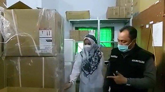 5 Ribu Alat PCR Hampir Kedaluarsa Ditemukan Ketua DPRD Pelalawan Saat Sidak ke Instalasi Farmasi