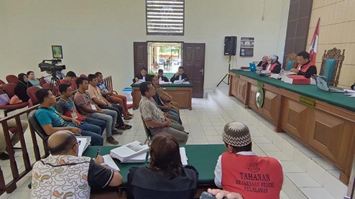 Sembilan Saksi Dihadirkan pada Sidang Kasus Karhutla PT SSS Pelalawan Riau