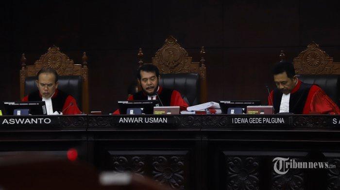 Pembacaan Putusan Sengketa Pilpres Digelar Kamis (27/6), 9 Hakim Konstitusi Sudah Kantongi Hasil?