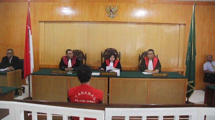 Hakim PN Dumai Jatuhkan Vonis Mati untuk Ade Kurniawan, Pemilik 50 Kg Sabu