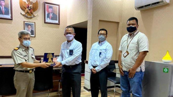 Silaturahmi GM PT PLN (Persero) UIP SUMBAGTENG dengan Kepala Kanwil BPN Prov. Jambi