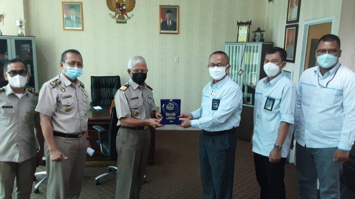 GM PT PLN (Persero) UIP Sumbagteng Silaturahmi dengan Kepala Kanwil BPN Sumatera Barat
