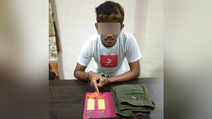 Simpan Daun Ganja di Saku Celana, Seorang Pria di Meranti Riau Diamankan Polisi