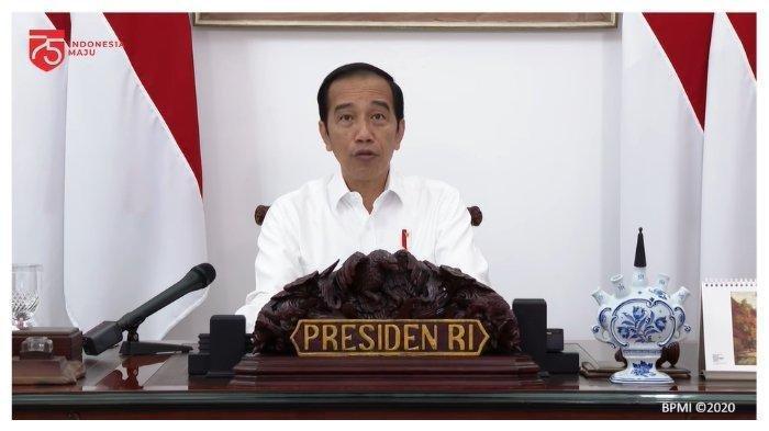 Presiden Jokowi Sebut Kasus Covid-19 di RI Terkendali Dibandingkan Amerika Serikat dan Brasil