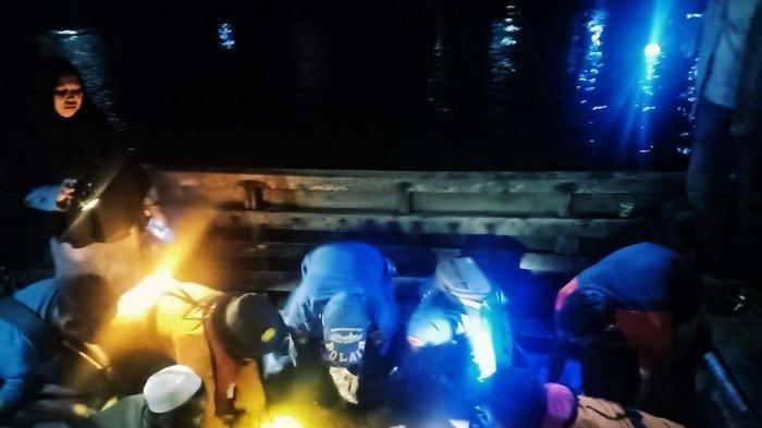 Sisir Perairan Pelangiran, Tim SAR Gabungan Akhirnya Temukan Warga Pelangiran yang Tewas Tenggelam