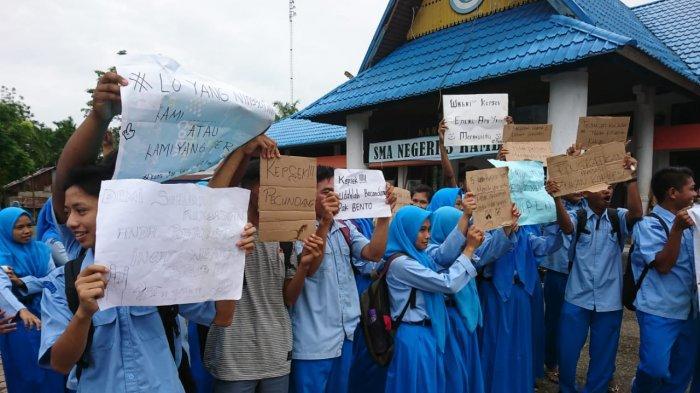 Ratusan Siswa SMA Negeri 3 Rambah Mogok Belajar, Disdik Riau Janji Segera Tindaklanjuti