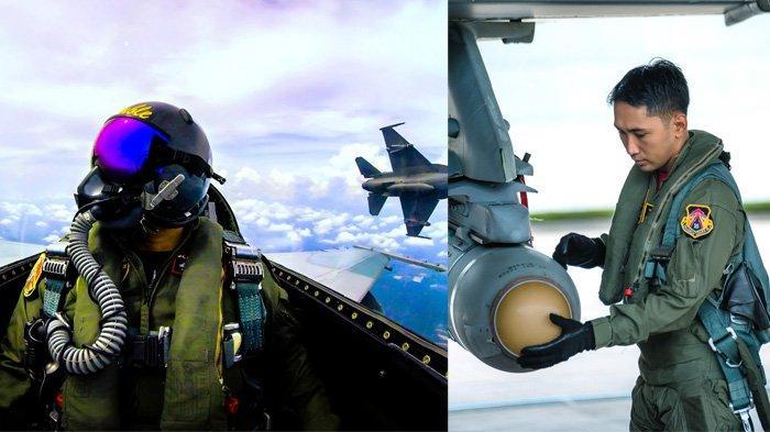 Pesawat Tempur F-16 Lanud Roesmin Nurjadin Lepaskan Rudal Maverick