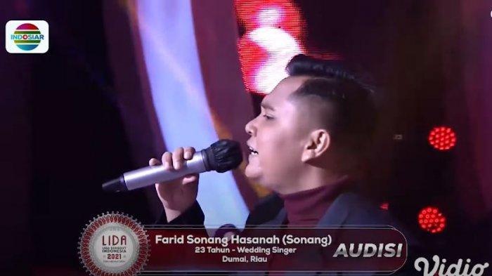 Sonang (Dumai) bawakan lagu Air Mata Perkawinan saat audisi LIDA 2021 Juri Sampai Tepuk Tangan!