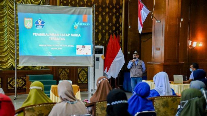 Pemprov Riau Tak Bolehkan Belajar Tatap Muka, Plt Kadisdik Dumai Belum Bersikap, Ini Katanya