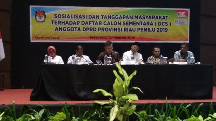 101 Posisi Bacaleg untuk DPRD Riau Tidak Terisi, Ini Penyebabnya
