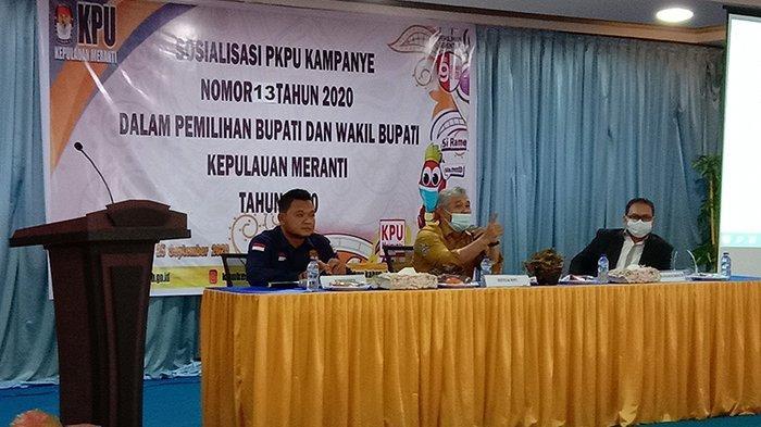 Aturan Kampanye Berubah, KPU Kepulauan Meranti Gelar Sosialisasi PKPU 13 Tahun 2020
