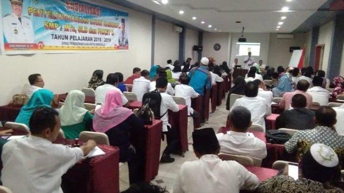 76 SMP Sederajat di Bengkalis Bakal Gelar UN Berbasis Komputer Tahun 2019
