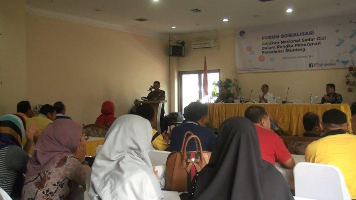 Indonesian Kominfo RI Taja Forum Sosialisasi Sadar Gizi di Rohul, ini Tujuanya