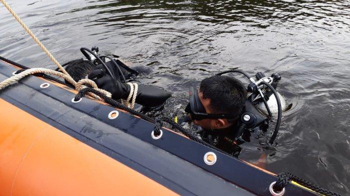 Usai Mancing,Speedboat Karam di Sungai Mandau Bengkalis,Satu Selamat,Satu Tenggelam Belum Ditemukan