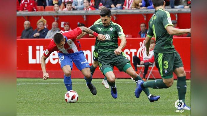 Hasil Pertandingan Sporting Gijon vs Eibar 2-0, Sporting Gijon Singkirkan Klub La Liga Santander