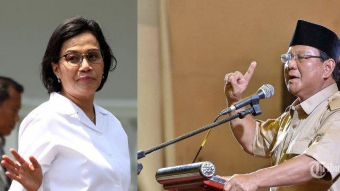 Dulu Pernah Sebut Sri Mulyani Menteri Pencetak Uang, Liat Ekspresi Prabowo saat Dipanggil Menkeu