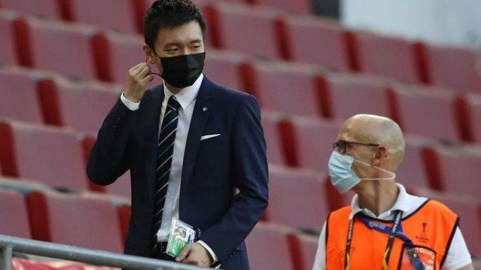 Presiden Inter Milan,Steven Zhang,