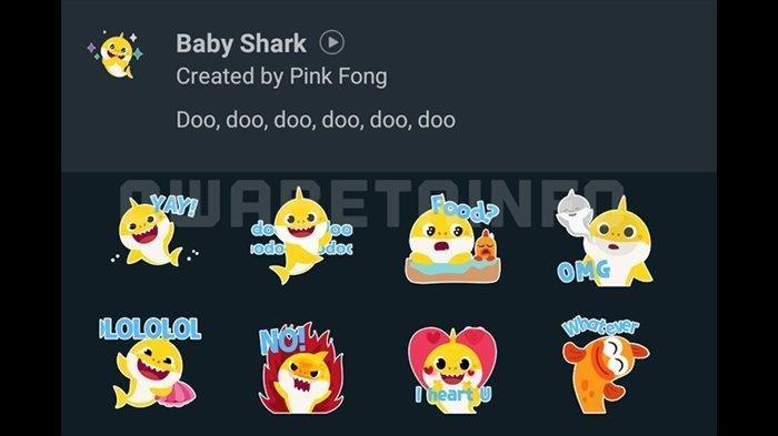 Cara Tukar Code Redeem Mobile Legends dan Cara Dapatkan Stiker Baby Shark di WA