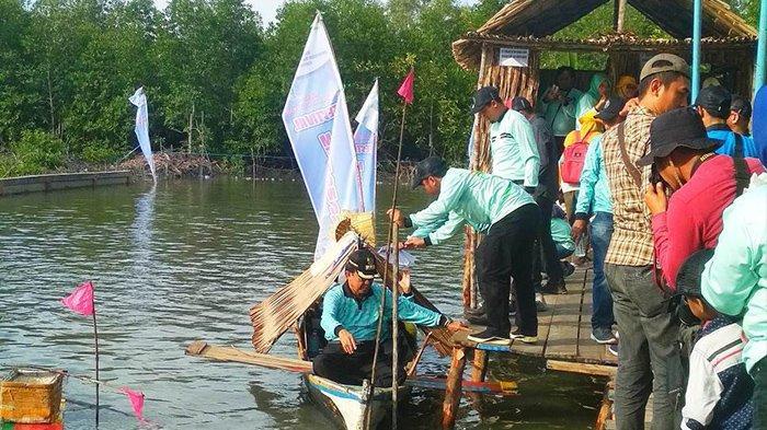 Inhil Jadikan Festival Menongkah Desa Tanjung Pasir Sebagai Destinasi Wisata Budaya