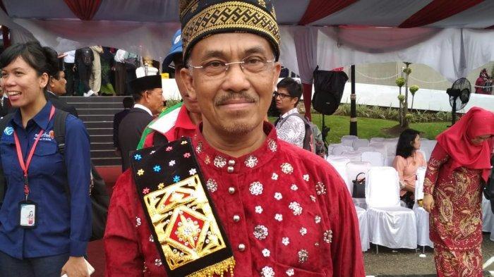 STORY - Masperi si 'Pak Uban' Pensiun dari Birokrat Pemprov, Maju di Pilkada 2020 Rohul Riau
