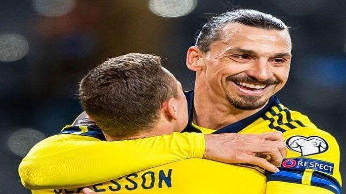 INI Daftar Pemain Timnas Swedia di Euro 2020, Minus Bintang AC Milan Zlatan Ibrahimovic
