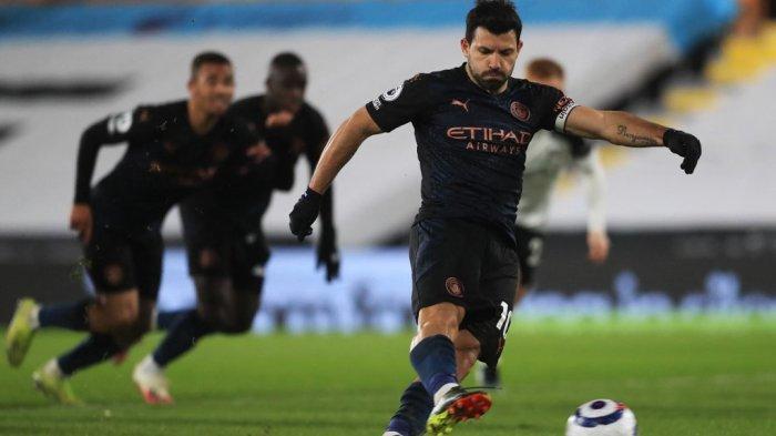 Striker Manchester City Sergio Aguero