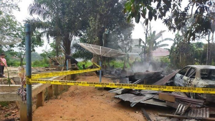 Bertengkar dengan Istri, Suami di Inhu Nekat Membakar Rumah, Sengaja Nyalakan Kompor & Kunci Pintu