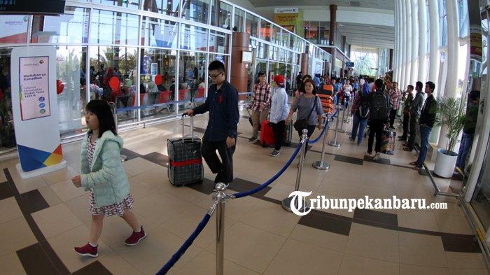 Puncak Mudik 15 Ribu Penumpang Diprediksi Padati Bandara SSK II Pekanbaru SaatH-2