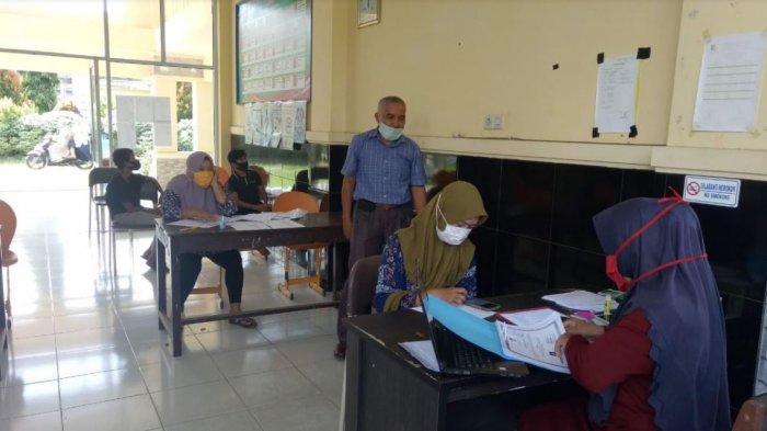 PPDB di Tengah Pandemi Covid-19, SMP di Kuansing Riau Ini Padukan Sistem Online dan Offline