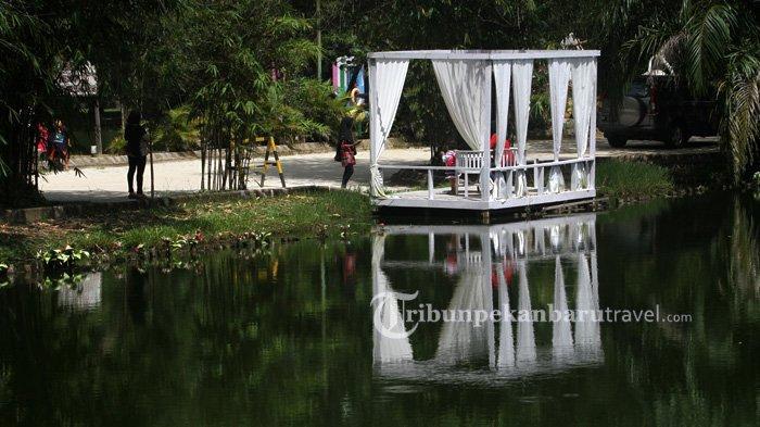 Setelah Tiga Bulan Tutup, Taman Rekreasi Alam Mayang Pekanbaru Kembali Dibuka Untuk Umum