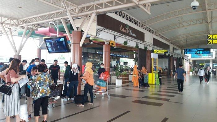 Nyaris Lumpuh, Belum Ada Satu Pun Pesawat Mendarat di Bandara SSK II Pekanbaru