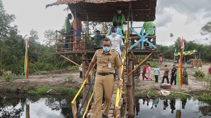 TAMAN Hijau Sejukkan Mata,Sungai Penampo Kecik Destinasi Wisata Baru,Berawal dari Normalisasi Sungai