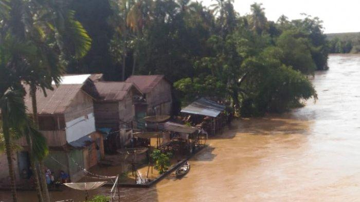 Sungai Subayang di Kampar Riau Meluap, Tim BPBD Masih Lakukan Pendataan Desa Terdampak