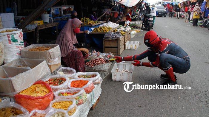 Kecamatan Di Inhil Diperbolehkan Meniadakan Hari Pasar Untuk Cegah Covid-9
