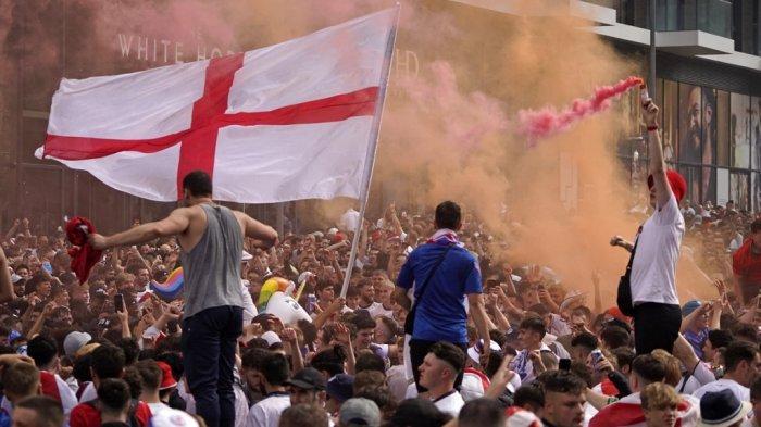 Kalah dari Italia di Final Euro 2020, Inggris Kembali Sial, UEFA Siapkan Sanksi, Ini Kesalahannya