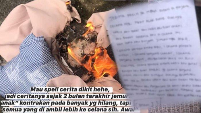 Surat Pencuri Celana Dalam Bikin Mahasiswi Syok, Berisi Pengakuan Fantasi Liar Si Pencuri pada Cewek