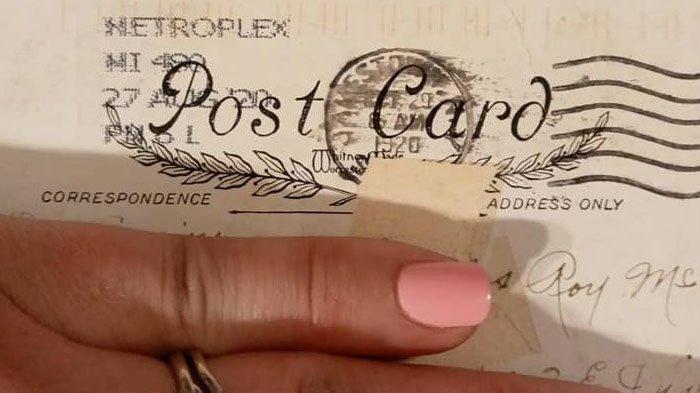 PERCAYA TAK PERCAYA, Wanita Ini Terima Kiriman Surat 1920 an, Begini Isi Surat yang Sudah Lapuk itu